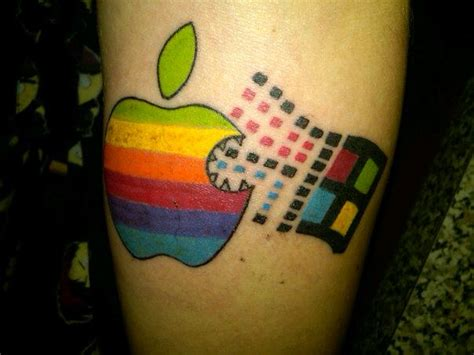 Check Out The Radical Tattoo This Young Apple Fan Got In