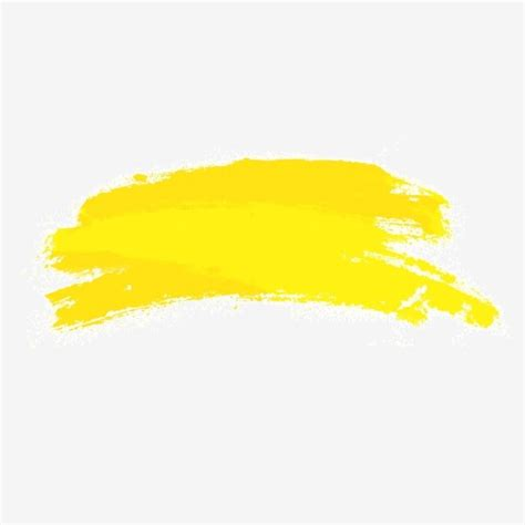 Yellow Brush Png, Vector, PSD, and Clipart With