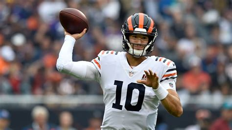 Mitchell Trubisky to play vs