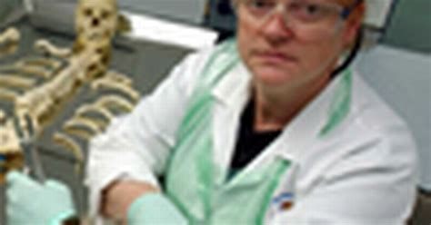 Forensic scientist Sue Black puts her skills to use