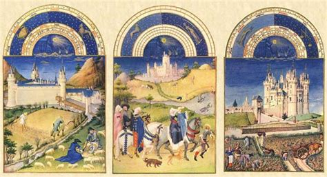 Book of Hours Tiles: Les Tres Riches Heures Limbourg