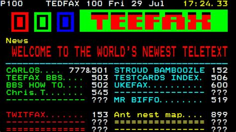 How Teletext and Ceefax are coming back from the dead
