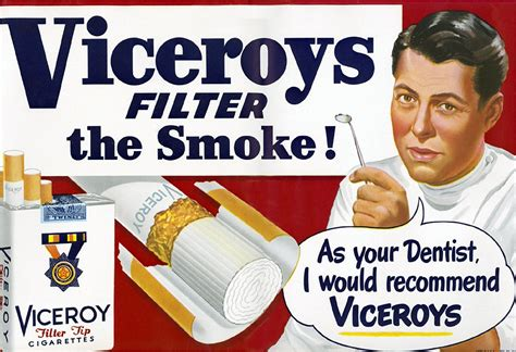 1950s - Dentist Recommends Viceroy Cigarettes   Your