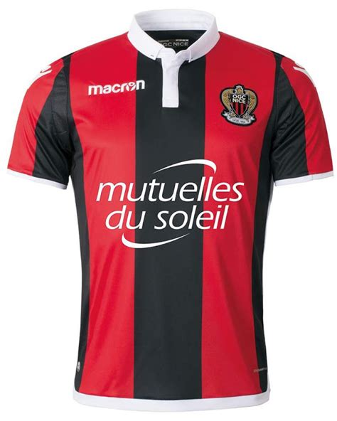 OGC Nice 17-18 Home, Away & Third Kits Released - Footy