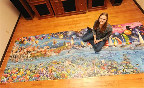 MU student completes world's largest puzzle in 10 months