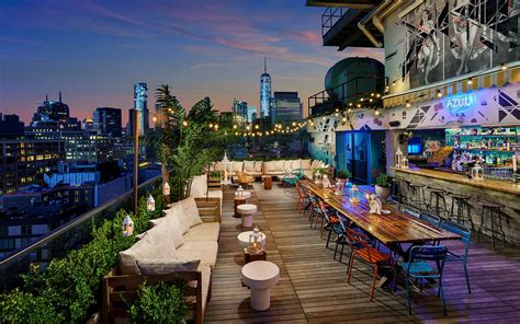 25 Best Rooftop Bars in NYC with Epic Skyline Views
