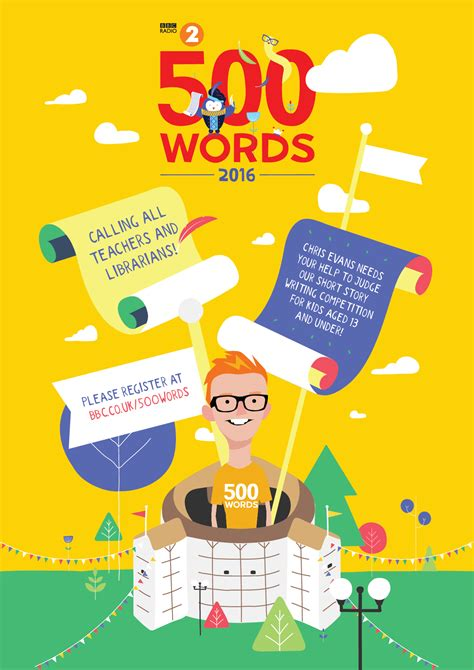 BBC Radio 2's 500 WORDS competition launched with HRH The