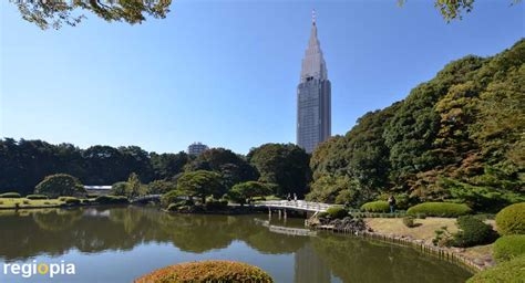 Parks and Gardens in Tokyo, Japan