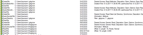 """symlinked gitignore file fails with """"fatal: cannot use as"""