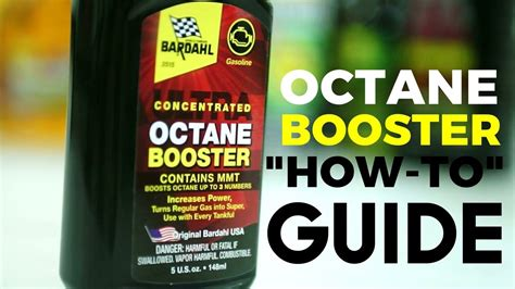 Bardahl Octane Booster How to Video - YouTube