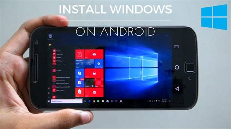 How To Install & Run Windows 10/8/7/XP On Android Phone NO