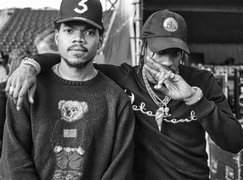 Chance The Rapper linked up with fellow rapper Travis