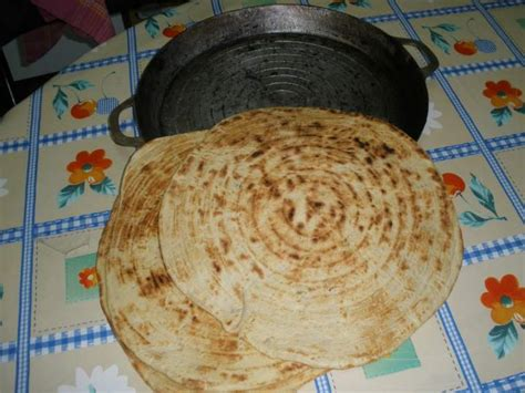 Galette kabyle (pain) + photos