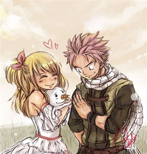 Natsu and Lucy Fairy Tail   Fairy tail personnage, Fairy