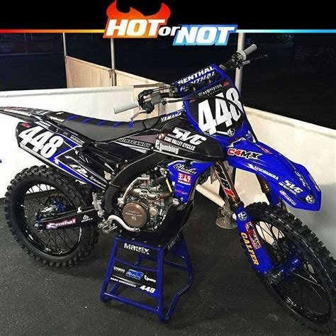 Hot or Not? Yamaha yzf250 of @brocshoemaker448 Get well
