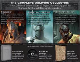 Oblivion 5th Anniversary Edition with $10 off Skyrim