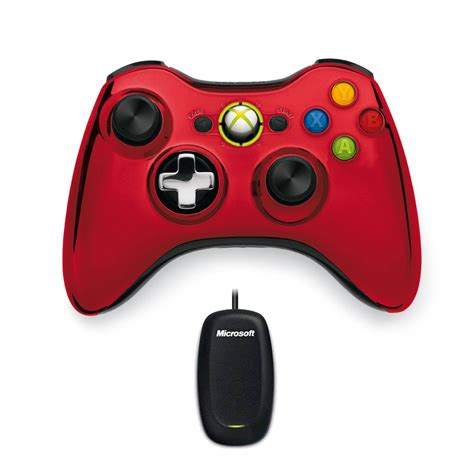 Microsoft Wireless Controller Chrome Series Rouge