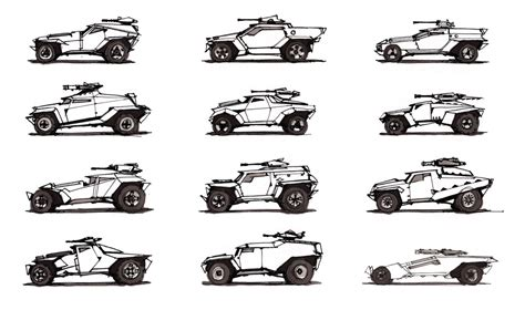 Video Game Vehicles - DRAWTHROUGH: the personal and