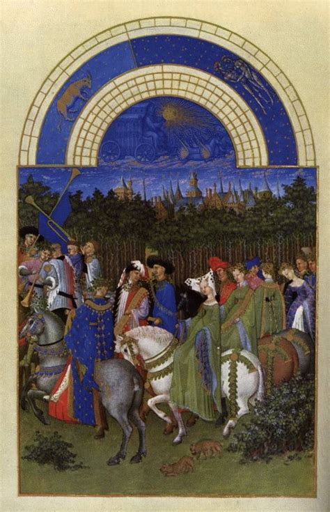 The Beckoning - Tres Riches Heures du Duc de Berry - May