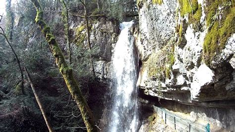 ANNECY Cascade d'angon - YouTube