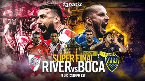 Where to find River Plate vs