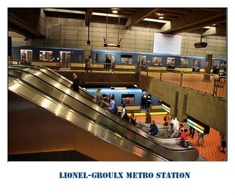 MONTREAL: Lionel-Groulx Metro Station