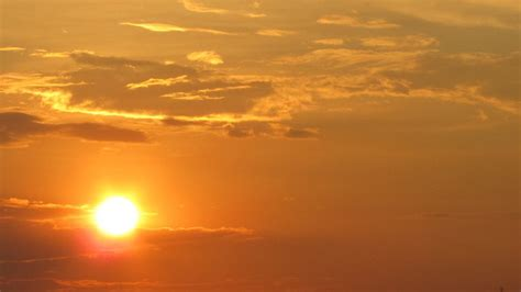 Golden Sunset with Clouds (Time Lapse) by urbazon   VideoHive