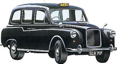 London Taxi Plastic Model Car Kit 1/24 Scale #07093 by