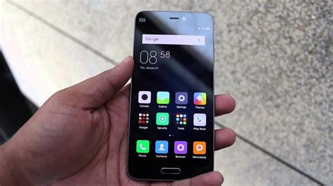 Xiaomi Mi5 Hands on Review, Camera, Features - YouTube