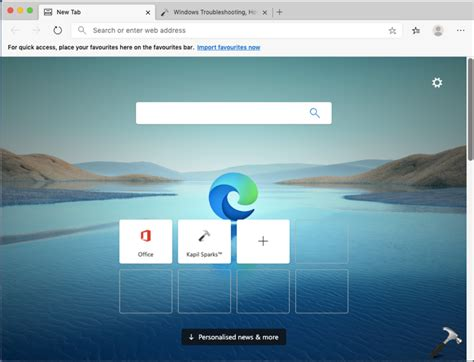 Microsoft Released New Edge Browser Chromium Browser
