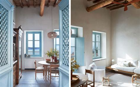 19th Century Greek House Has Been Carefully Restored To