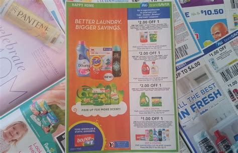 P&G Makes More Tide, Gain, Downy & Bounce Coupons