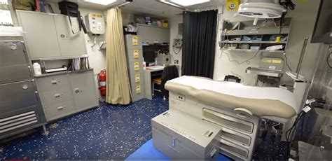 A first look inside life aboard the new class of US Navy