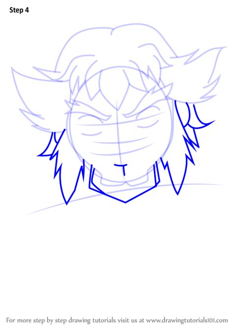 Learn How to Draw Lupinex from Beyblade (Beyblade) Step by