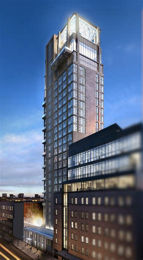New Look: 414 West 15th Street, New 25-Story Hotel in the