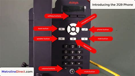 Feature review of Avaya J129 IP Phone (700513638