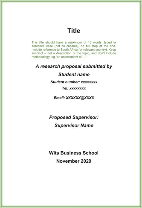 9+ Free Research Proposal Templates & Examples (Word | PDF)