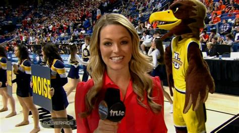 PHOTOS: Allie LaForce is back as a Sideline Reporter at