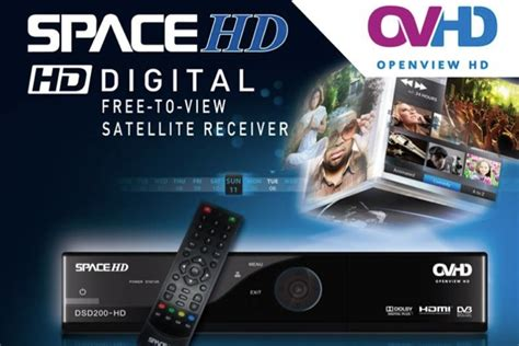 OpenView HD decoder from Space TV pricing