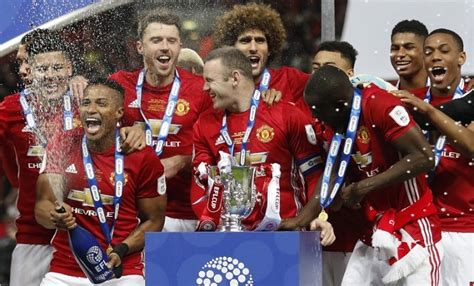 VIDEO: Manchester United 2017 EFL Cup champions