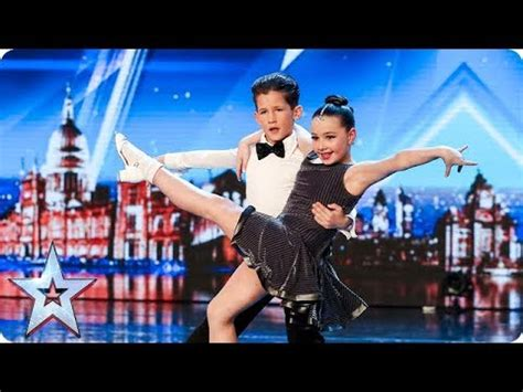 Meet dazzling dancing duo Lexie and Christopher