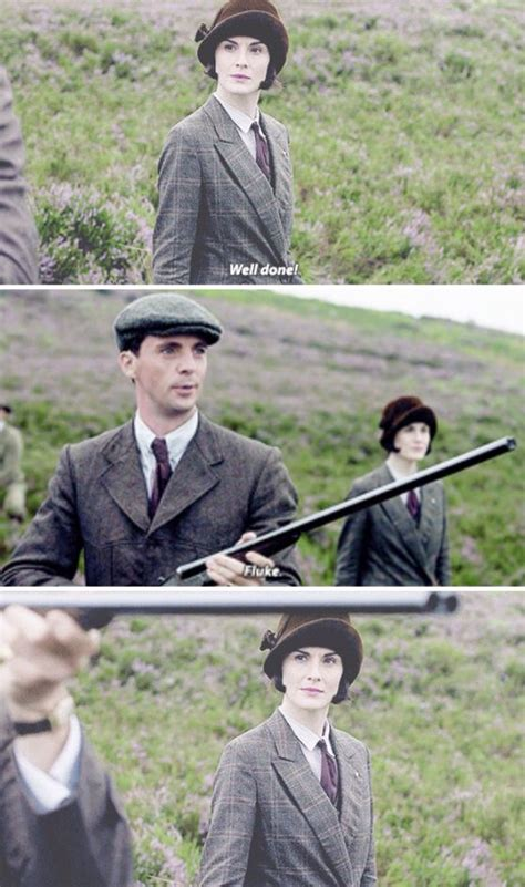 Mary and Henry meet at Lord Sinderby's grouse hunting