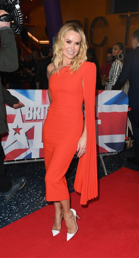 AMANDA HOLDEN at Britain's Got Talent Auditions in