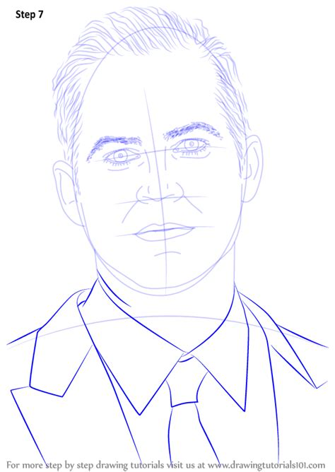 Learn How to Draw Paul Walker (Celebrities) Step by Step