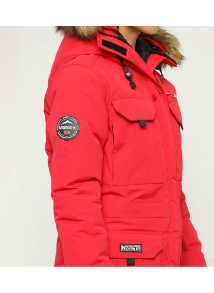 PARKA ALPES MUJER ROJO GEOGRAPHICAL NORWAY