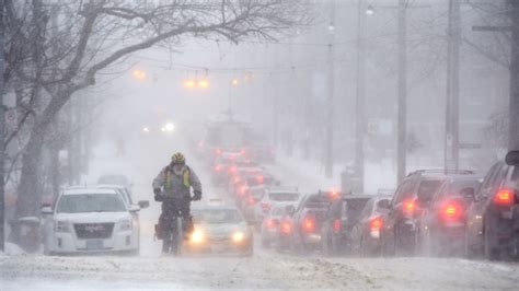 Heavy snow and bitter cold in Environment Canada's