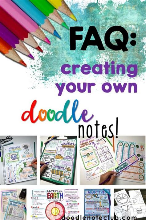 FAQ: Creating Doodle Notes - Doodle Note Club