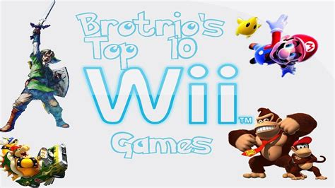 Top 10 Wii Games - YouTube