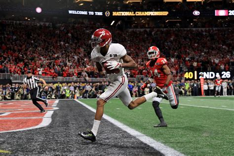 Here's The 41-Yard TD Pass That Won Alabama The National