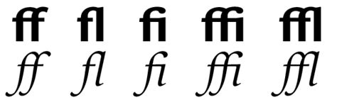 I love Typography (ILT) fonts, typefaces, the the